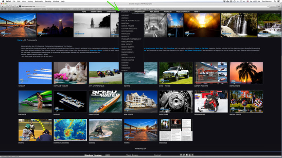 Step 1 Select the Gallery to Locate Images