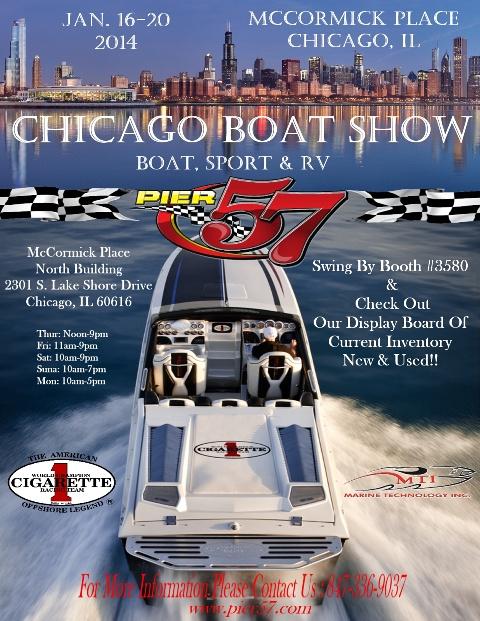 PIER 57 CHICAGO BOAT SHOW