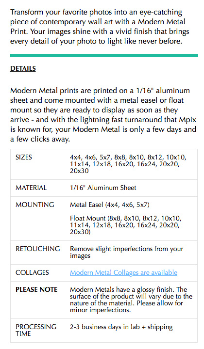 MODERN METAL DESCRIPTION-MX