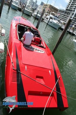 Sharkey Images | 2008 Miami Boat Show | Outerlimits 41 Super Leggera